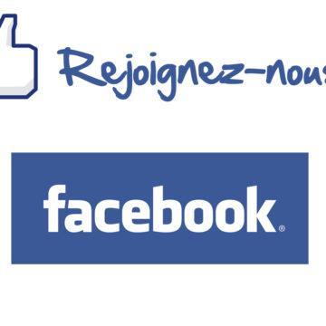 Rejoignez moi sur Facebook
